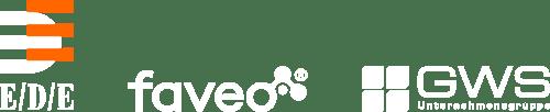 EDE, faveo, GWS Logos