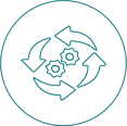 Icon ERPcloud360 Cloud-ERP_Zuverlässigkeit